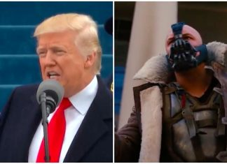 "Donald Trump plagiou ""Bane"" do filme Batman"