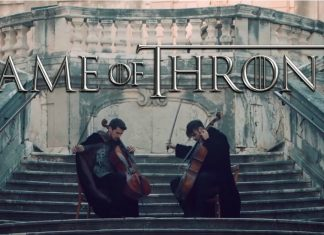 2Cellos recriam abertura da série Game of Thrones