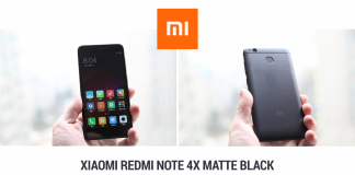 Xiaomi Redmi Note 4X Matte Black a 128€