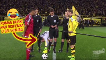 O divertido ritual do guarda-redes do Borussia Dortmund